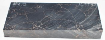 Black with Copper Matrix Tru-stone Block 0.7